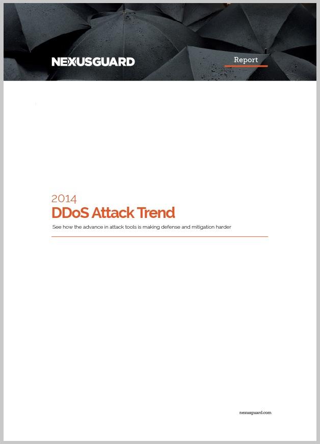 2014 DDoS Attack Trend