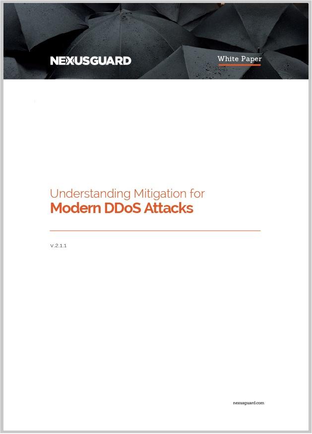 Mitigation for Modern DDoS Attacks