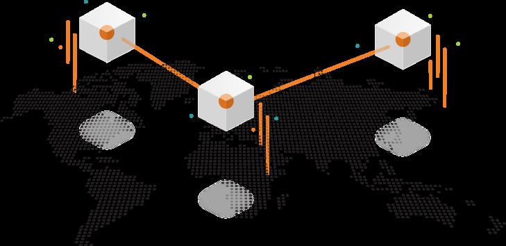 Global scrubbing network